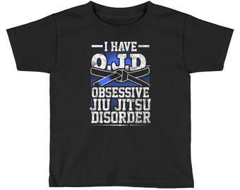 OJD Obsessive Jiu Jitsu Disorder Kid's BJJ T-Shirt