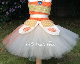 New to Etsy. Moana Inspired Tutu Dress