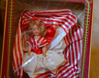 Mam'zell French doll, vintage 1940s
