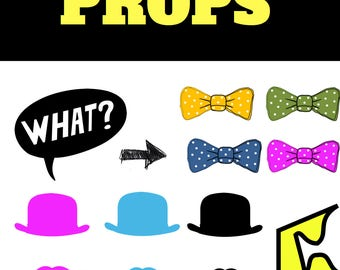 PhotoBooth Printable Props