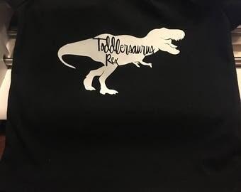 Toddlersaurus Rex Kids Shirt