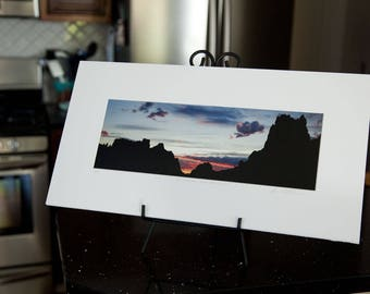 Smith Rock State Park, Oregon - Matted Print