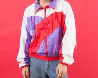 Windbreaker, 90s Windbreaker, Vintage Windbreaker, Fresh Prince, Windbreaker Jacket, Aesthetic Clothing, Windbreaker, 90s, 90s Clothing