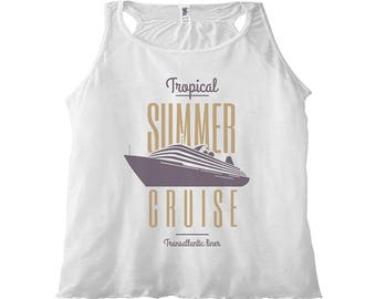 Women's Tank Top Summer Cruise