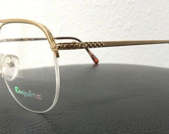 Esquire Hearst E 108 / Vintage Eyeglasses Frame / Demo Lens / NOS Unworn / Made In Japan