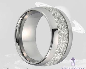 Unique 10mm Mens Wedding Ring