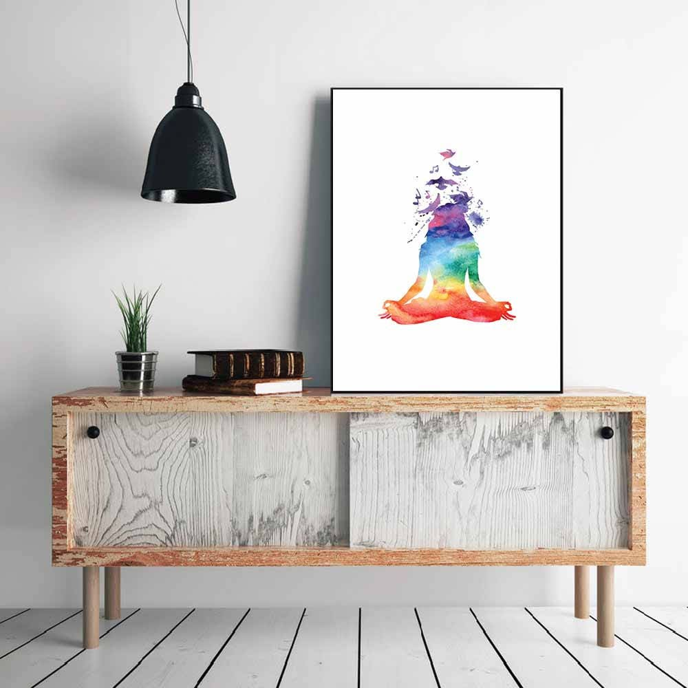 Yoga Wall Poster/ Yoga Posters/ Yoga Print/ Home Decor/ Poster/ Wall