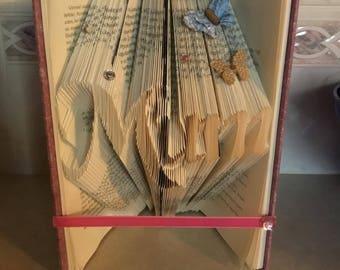 Book Folding 'Mum'