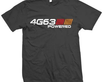 4G63 Powered Engine Lancer Talon Evo VIII IV Eclipse 1G 2G Mitsubishi DSM T-shirt