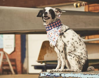 Dog Bandana | Double-sided | Crossed | Free Shipping to Canada