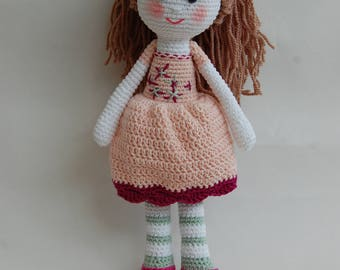 Crochet doll, doll, princess, perfect gift