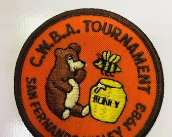 C.W.B.A. Tournament San Fernando Valley '83 patch