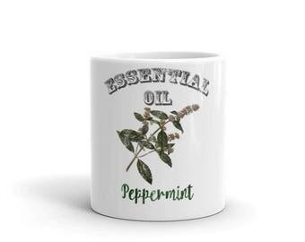 Essential Oil Peppermint Mug