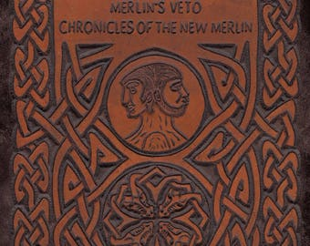 Hard Copy Novel: Merlins Veto Chronicles of The New Merlin signed by author.