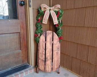 Decorative Wooden Sleds