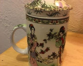 Beautiful Infuser Tea Cup Made in China