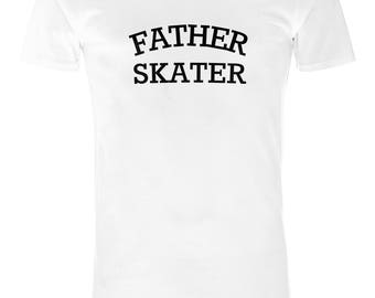 Mens Sandwich and Skateboard Father Skater T-Shirt