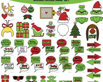 Grinch party | Etsy