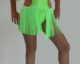 Customizable Latin dance dress