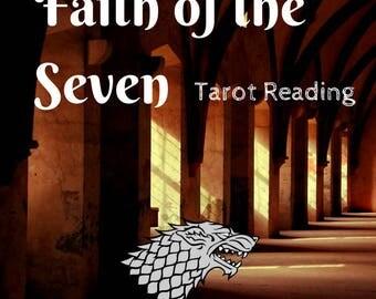 Game of Thrones Tarot Reading Faith of the Seven