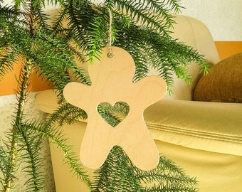 set of 6 xmas tree decors xmas ornaments christmas tree decorations gingerbread decoration