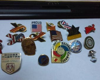 Collector Pins 21 total