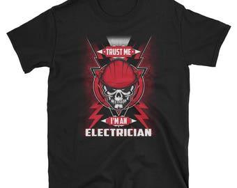 Electrician shirt - electrician - electrician gift - electrician tshirt - electrician gifts - funny electrician