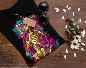 Drama skeleton T-Shirt