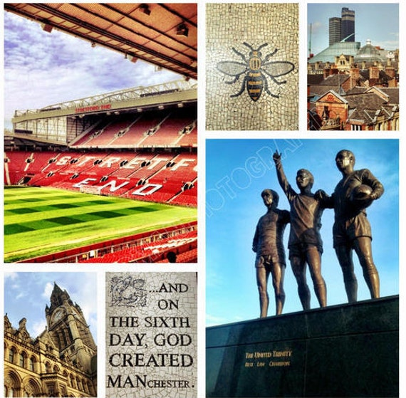 Man United Manchester Photographic Montages by Ben Sedman