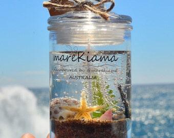 Under-The-Sea Scented Gel Candle (#SM-G2)