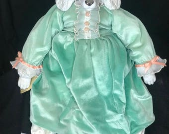 Poodle Animal Doll Handmade