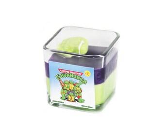 Teenage Mutant Ninja Turtle Cowabunga Soy Candle - Donatello TMNT
