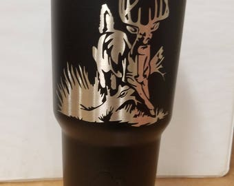 Custom powdercoated tumbler