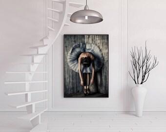 ballerina print, ballerina photography, Ballerina art, Contemporary home decor