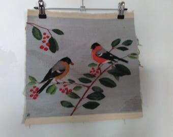 "Tapestry ""Bullfinches"""
