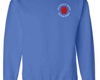 28th Infantry Division Embroidered Sweatshirt-7451