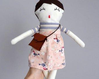 Handmade Rag Doll * Matilda * Plof Dolls