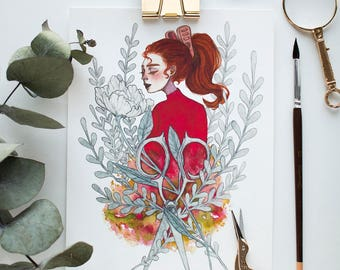 Arrietty Print - Signed (A5)