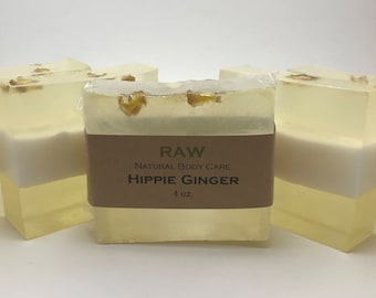 Patchouli Soap / Ginger Soap / Handmade Soaps / Natural Soaps / Hippie Ginger