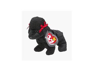 Ty Beanie Babies Gigi the poodle 1998 generation 5 version 6