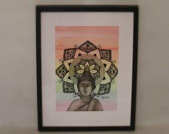 Raindbow Buddha Mandala