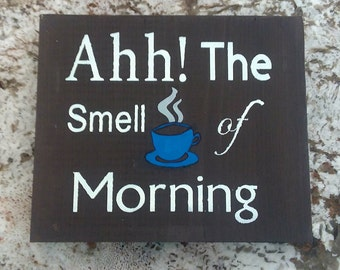 Coffee Kind of Day wooden sign