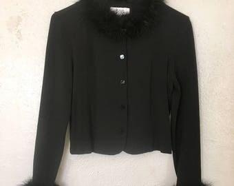 90's Boa Lined Cardigan
