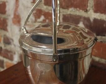 Silver Ice Bucket - Vintage