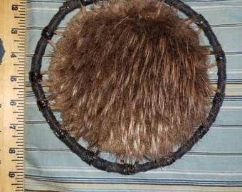 Alaskan Beaver Fur Spirit Hoop