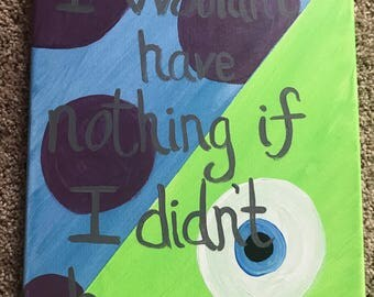 Monsters Inc. Painting