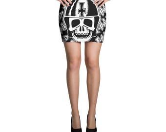 Broken Bones FOAD mini Skirt Discharge uk82