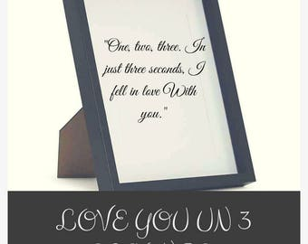 Am In Love With You, Am in love with you card,  love