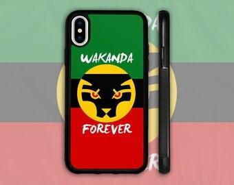 Wakanda Forever Phone Case - CUSTOMIZABLE