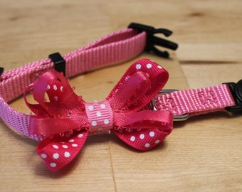 Pink Dots Bow